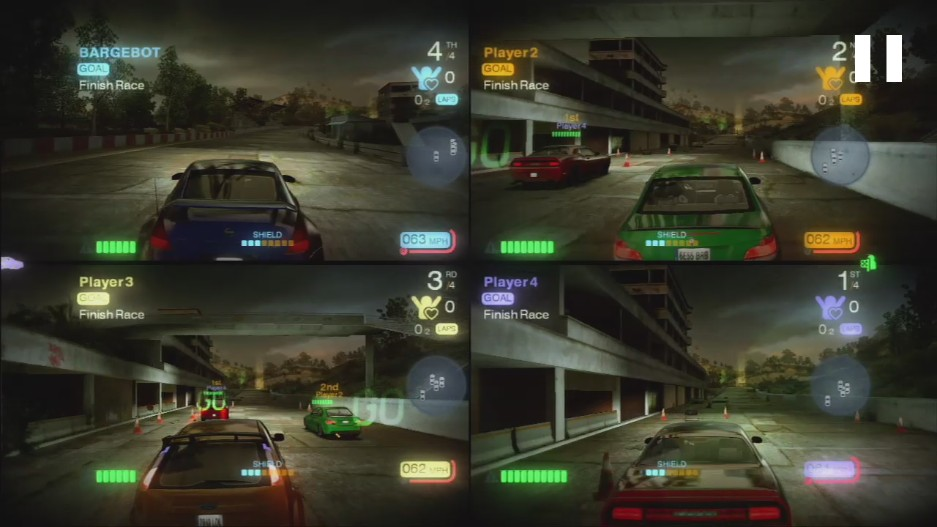 good 4 player split screen games for xbox 360