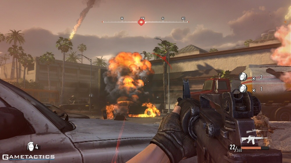 battle los angeles game review