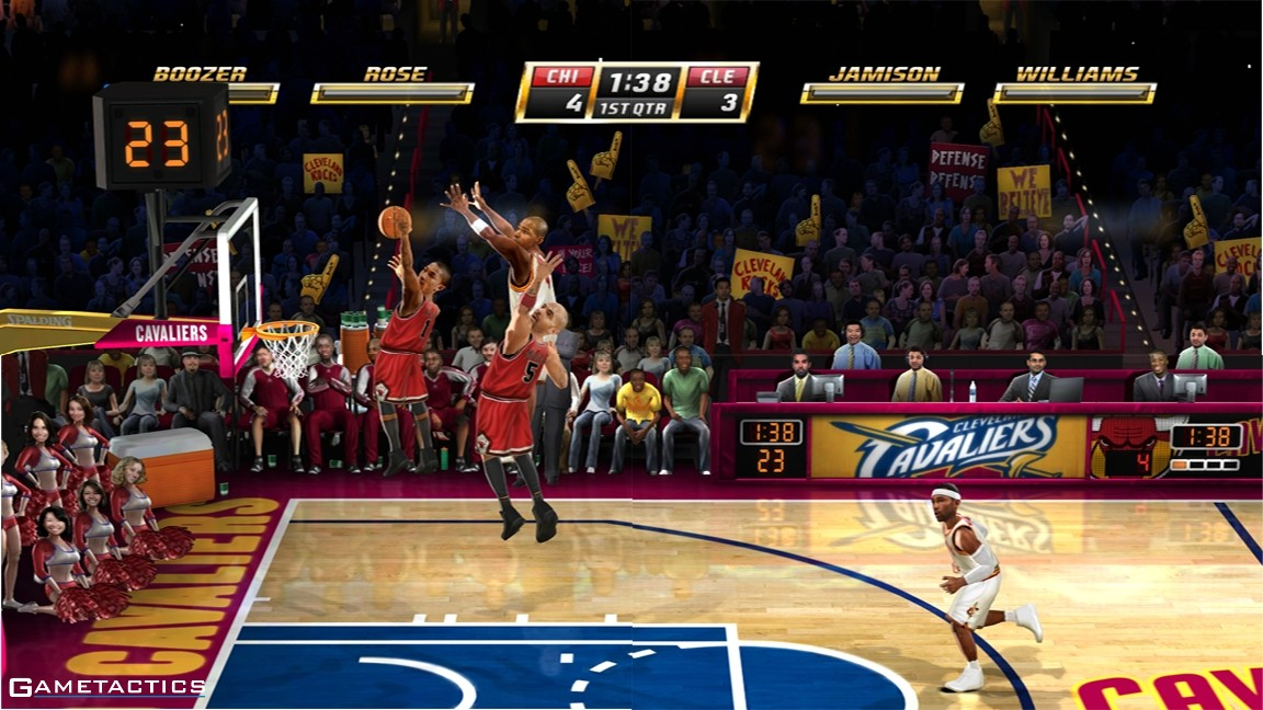 Buy NBA Jam for the Wii online from EBGames.com