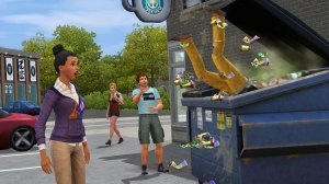 ts3_universitylife_dumpsterdiving