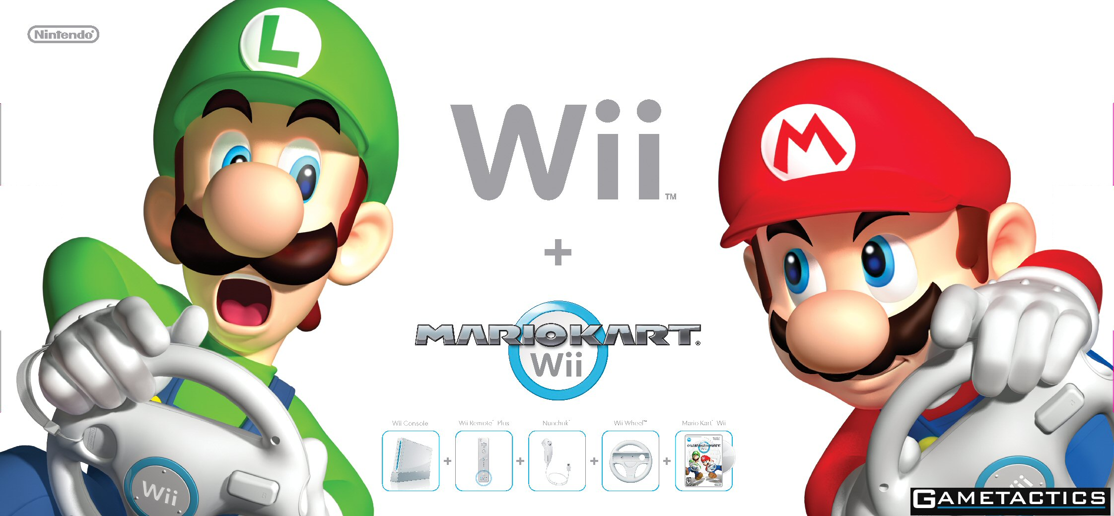 brand new nintendo wii console white mario kart. Black Bedroom Furniture Sets. Home Design Ideas
