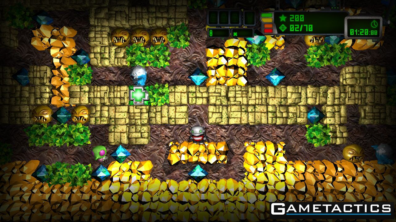 boulder dash xl release date and new screenshots released