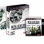 Metal Gaer Solid HD Limited Edition PlayStation 3 Product Shot