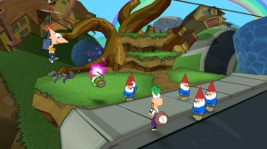 Phineas and Ferb Across the 2nd Dimension Screenshot
