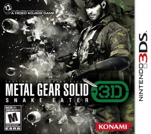 Metal Gear Solid 3D Box Shot