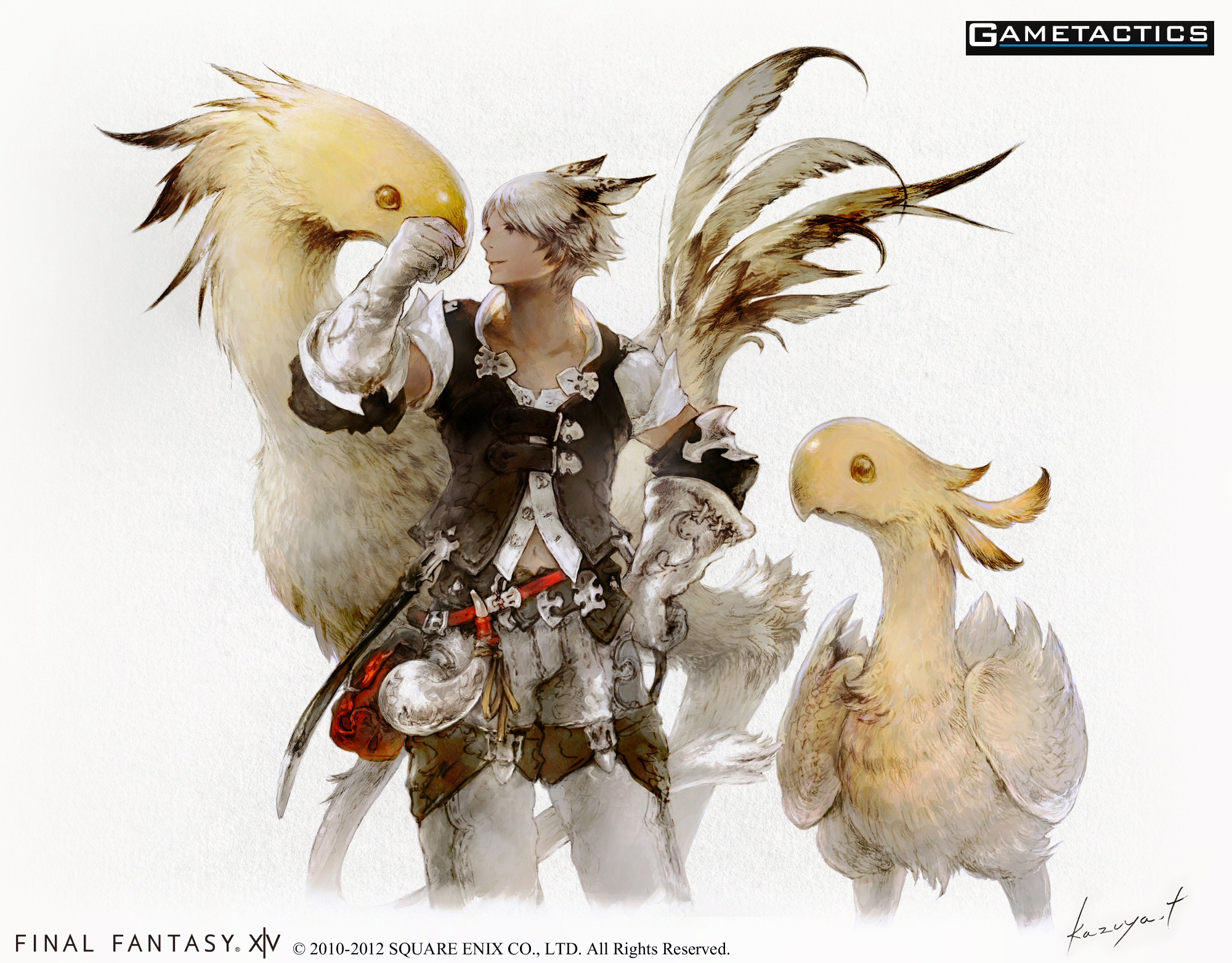 Final Fantasy Xiv Version 2 0 Hyur And Miqo Te Race Revealed Gametactics Com