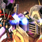 Transformers Prime_Wii U screenshot_Optimus Prime fights Thunderwing
