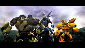Transformers Prime Wii U Screenshot