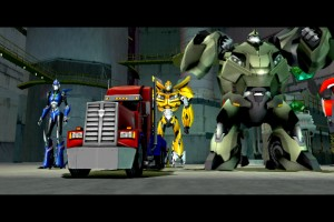Transformers Prime The Game Screenshot