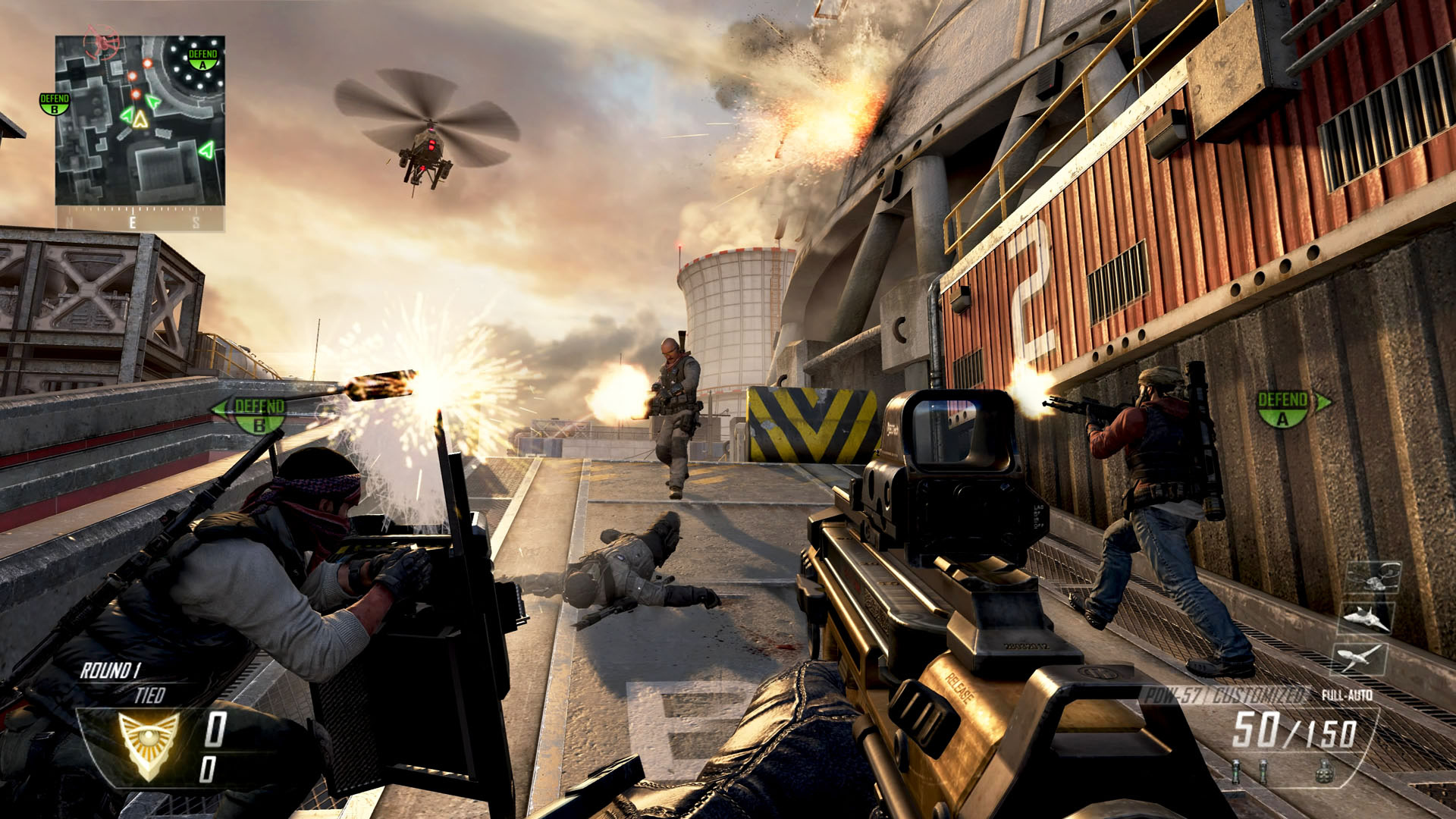 Call of Duty: Black Ops 2 – Review (Xbox 360 ... M1216 Black Ops 2