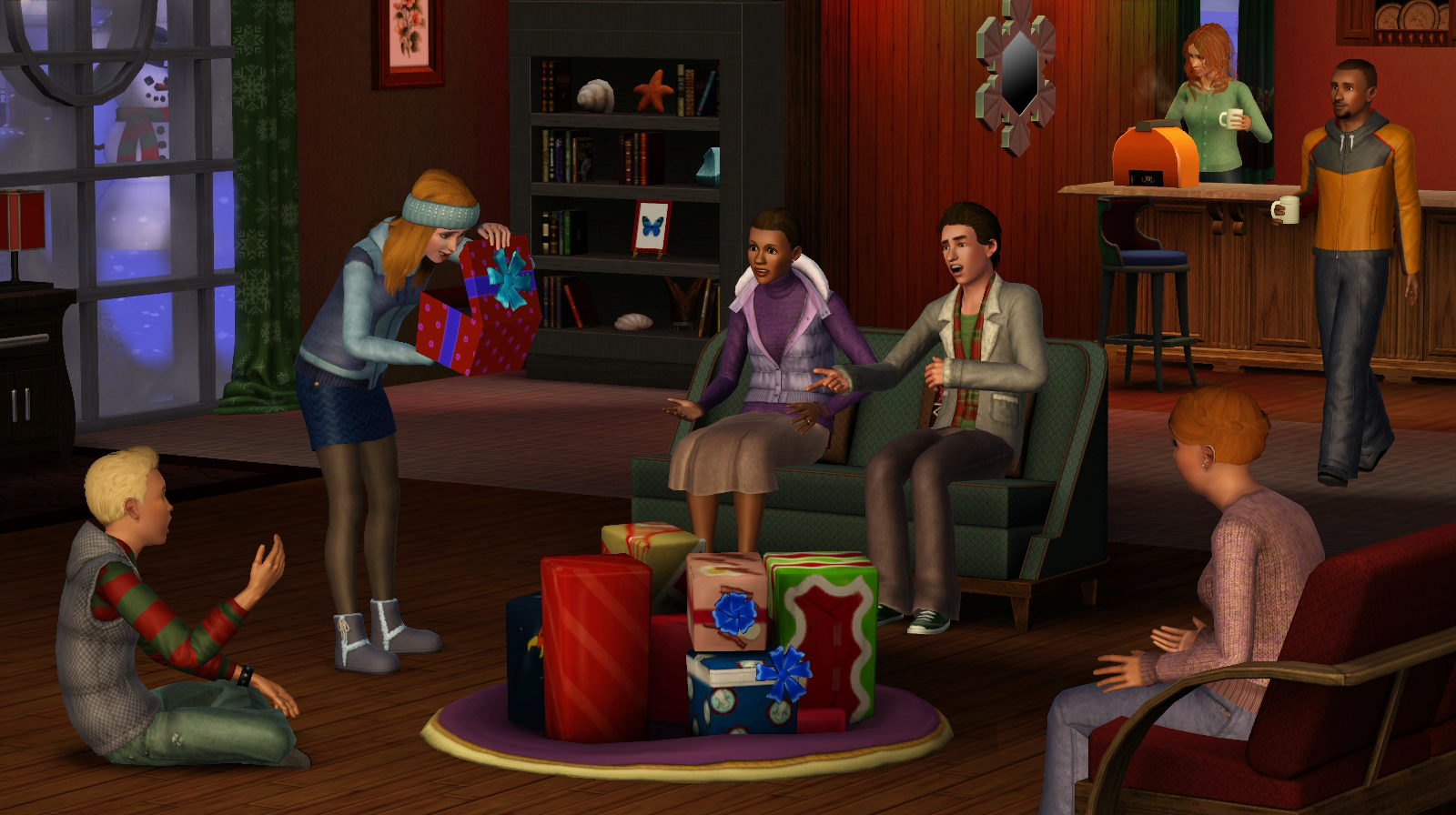 #6D2C1A The Sims 3: Seasons Exapansion Pack – Review (Windows PC  5513 décorations de noel sims 3 saisons 1600x896 px @ aertt.com