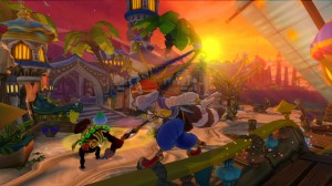 Sly Cooper Thieves in Time Screenshot