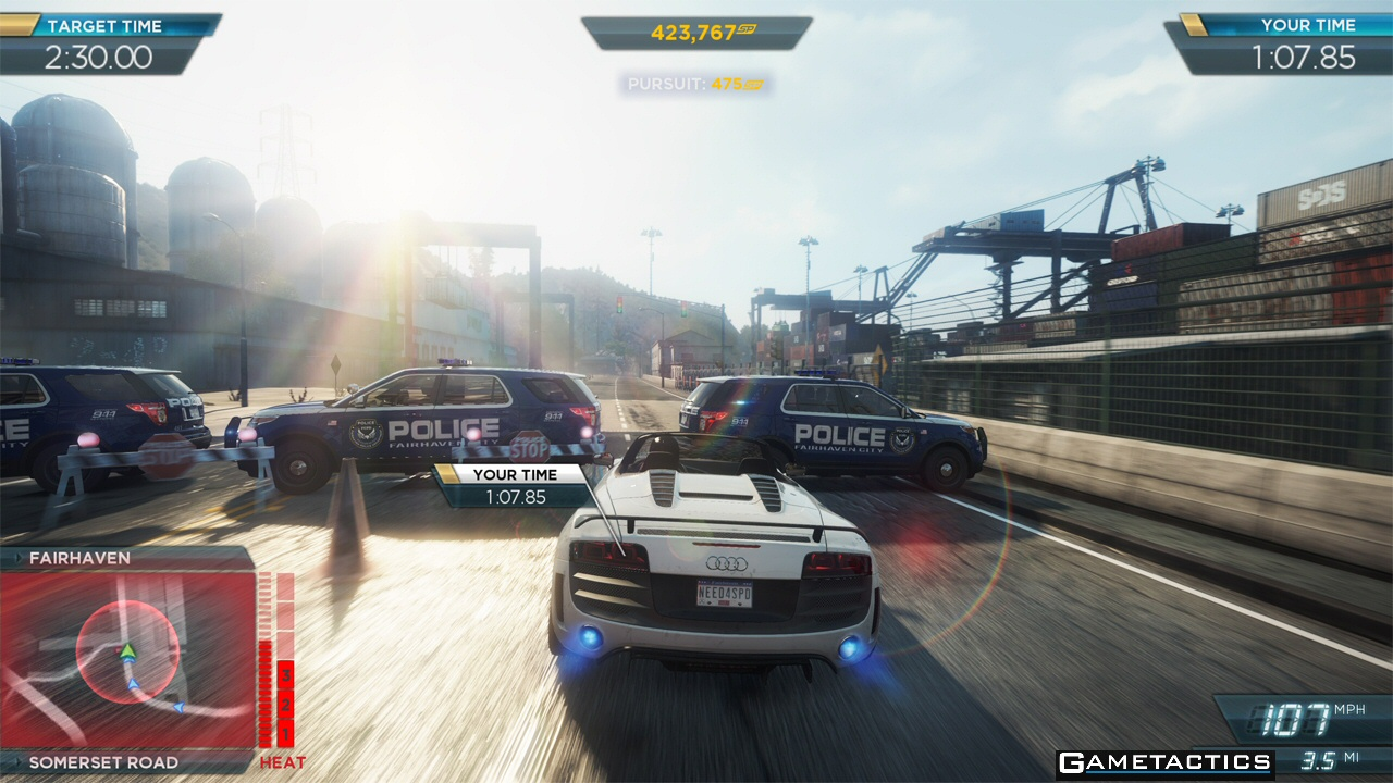 EA Launches Need for Speed Most Wanted U Today : Gametactics com