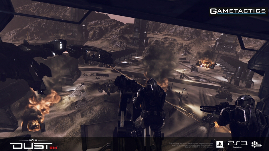 Free to Play DUST 514 Set for Launch on May 14th 2013
