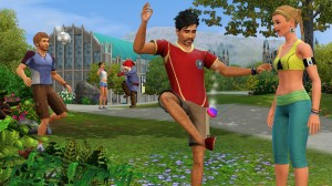 The Sims 3 University Life Screenshot