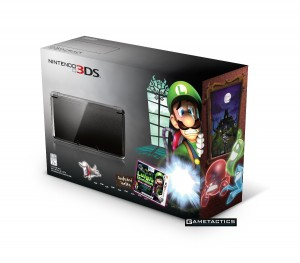 Luigi's Mansion - Dark Moon 3DS Bundle Canada