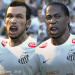 PRO EVOLUTION SOCCER 2014_TheCore_Santos_4Players