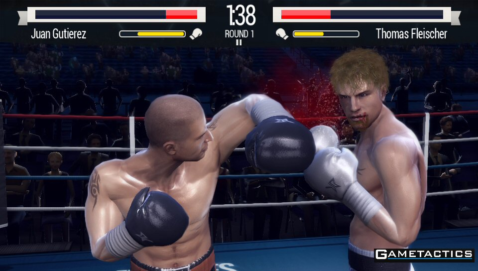 Real Boxing for PlayStation Vita Launches in North America : Gametactics.com
