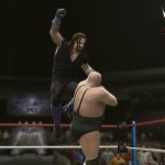 WrestleMania 11: The Undertaker (with Paul Bearer) vs. King Kong Bundy (with Ted DiBiase)