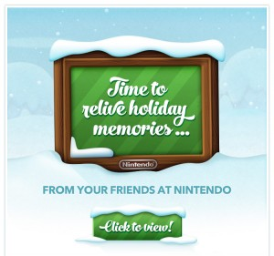 Nintendo Holiday 2013