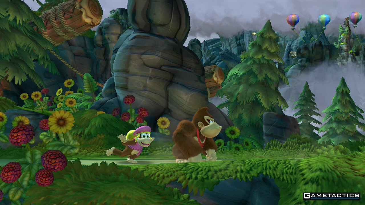 Donkey Kong Country Tropical Freeze Review Wii U