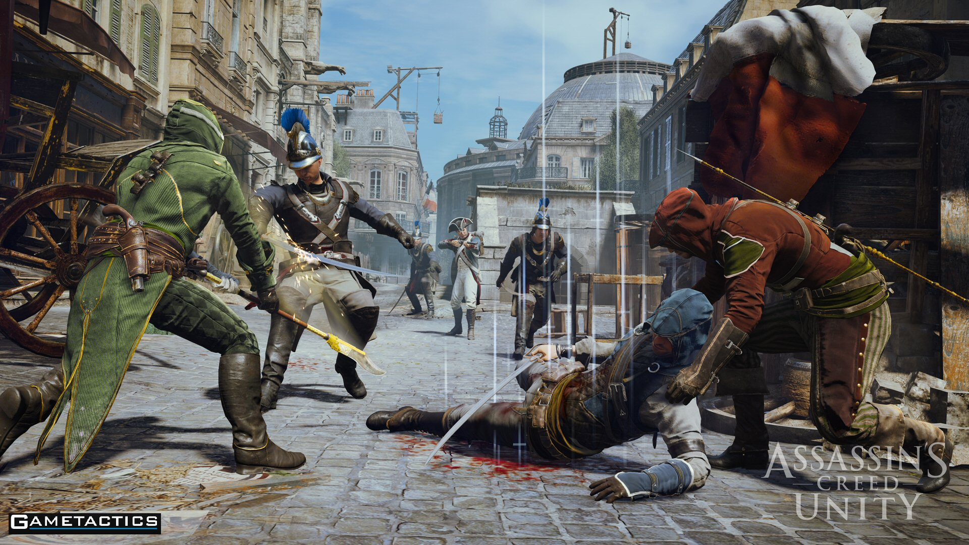 New Assassin's Creed Unity Multiplayer Screenshots Released