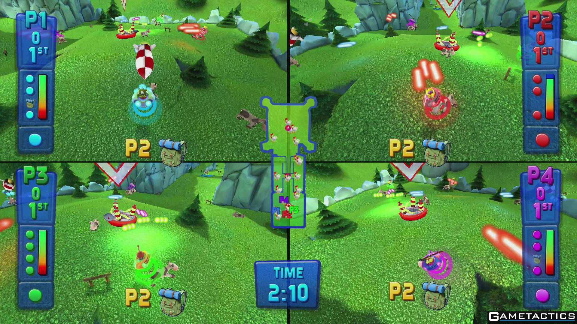 Multiplayer Games For Ps4 : Fluster cluck review playstation gametactics