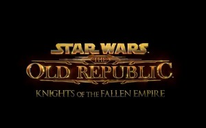 STAR WARS The Old Republic - Knights of the Fallen Empire Logo