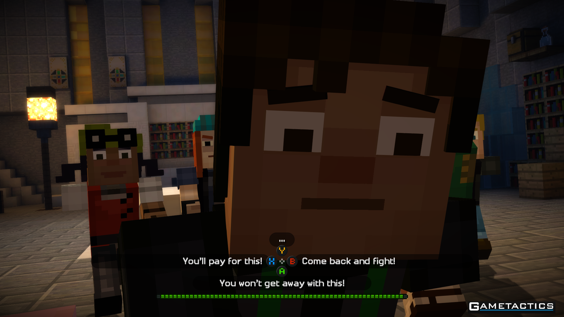 Minecraft Story Mode Episode 3 Review – Xbox One (Also on