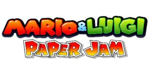 Mario and Luigi Paper Jam Logo Small